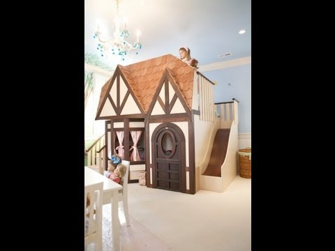 Luxury Kids Theme Beds Indoor Kids Playsets Custom