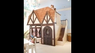 Luxury Kids Theme Beds Indoor Kids Playsets Custom Playhouses