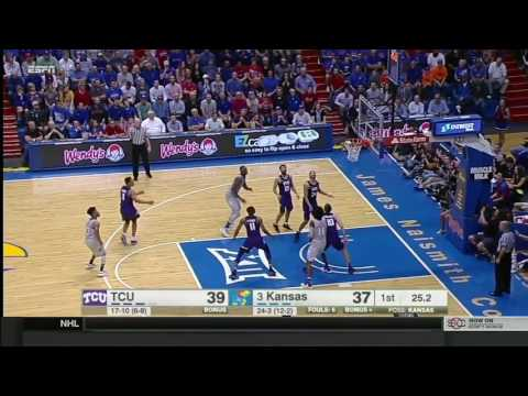 TCU at Kansas | 2016-17 Big 12 Men