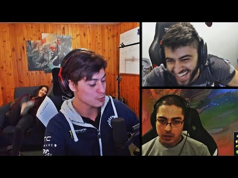 TRICK2G MAKES HIS WHOLE TEAM CRY   YASSUO'S SCRIM   LL STYLISH'S SISTER ON STREAM   LOL MOMENTS
