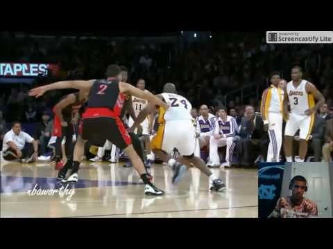 NBA Crossovers and Ankle Breakers of 2013 2014 reaction