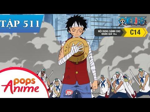 One Piece Tập 511 - Sự Trở Lại Không Ai Ngờ Tới! Luffy Đến Marineford! - Đảo Hải Tặc