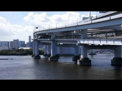 虹の橋を超えて 竹芝桟橋から台場へ Over the Rainbow Bridge