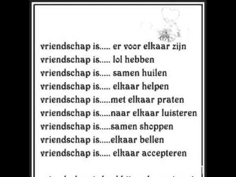 Vriendschap Teksten
