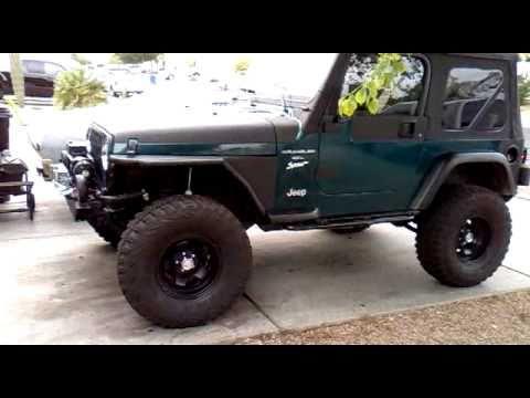 Jeep Fenders Jk installing smittybilt tude fender part 3. - YouTube
