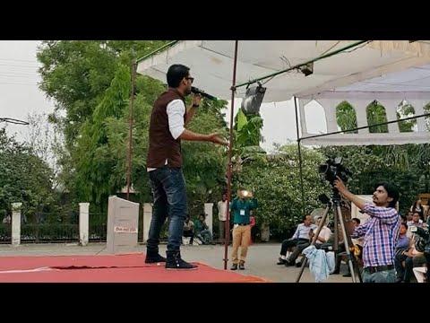 Saif Shaikh Live Performance Aligarh College (ACET) Fest 2016