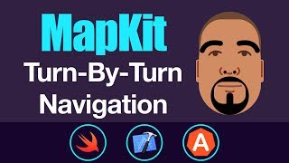 Video MapKit: Turn-By-Turn Navigation | Swift 4, Xcode 9 download MP3, 3GP, MP4, WEBM, AVI, FLV September 2018