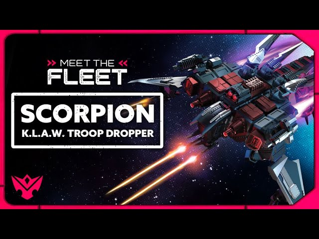 Scorpion K.L.A.W. Troop Dropper