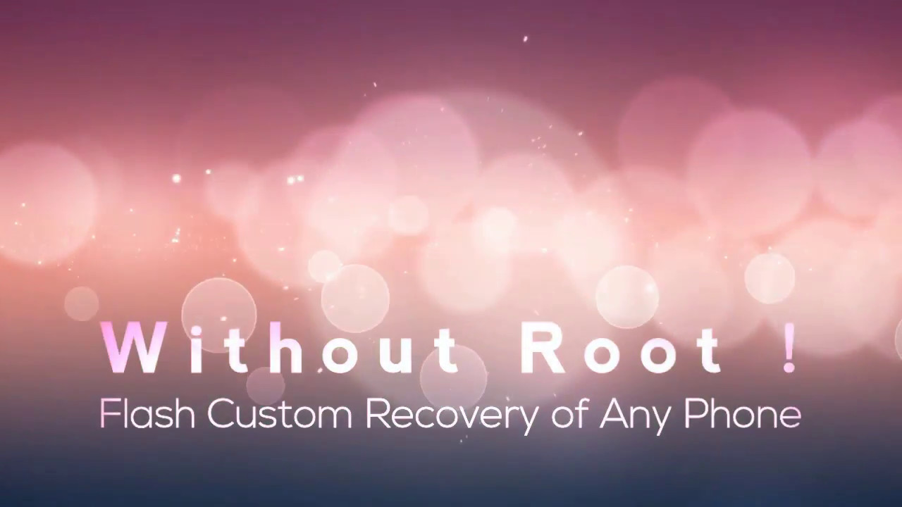 How to Flash Custom Recovery in Any Android Phone Without Root | TWRP  Recovery for LYF Wind 5 by ANDROID TECH WORLD