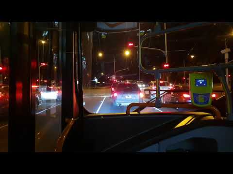 A Night Ride On Transdev Smartbus Route 901: Rowville To Ringwood - Buses In Melbourne
