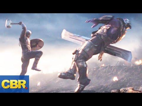 Why Captain America Waited Until Avengers: Endgame To Lift Thors Hammer Mjolnir