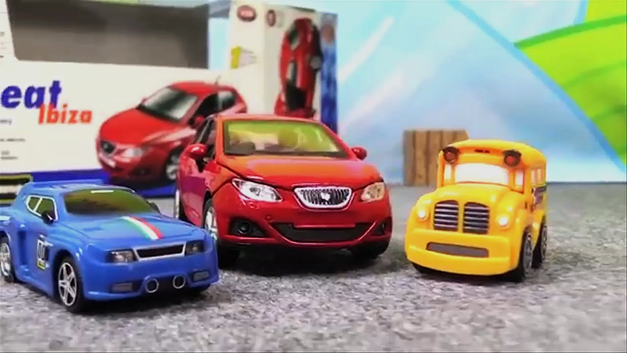 Carros Para Ninos Seat Ibiza Carros De Juguete Youtube