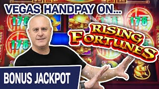 🖐 Rising Fortunes HANDPAY in LAS VEGAS ✨ $44 Spins at The Cosmopolitan on the VEGAS STRIP