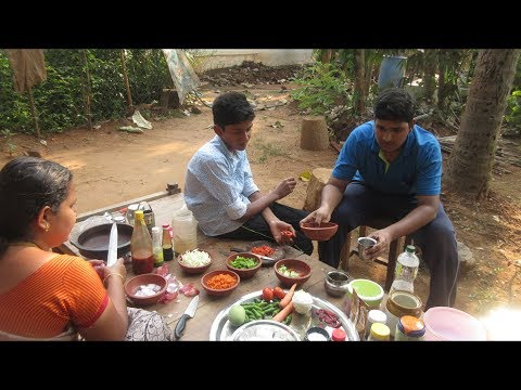 Village food factory /Egg macaroni recipes Cooking by my Family in my village / Village food