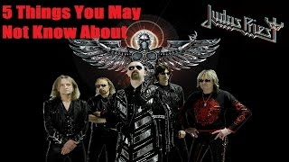 5 Things You May Not Know About JUDAS PRIEST
