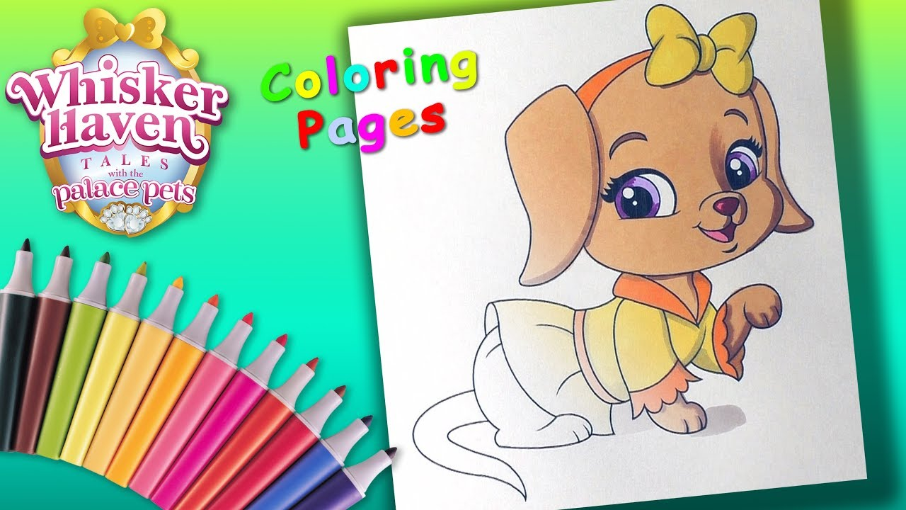 Whisker Haven Tales With The Palace Pets Coloring Forkids