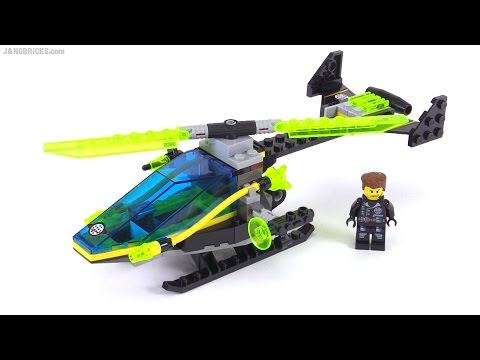LEGO Alpha Team Helicopter From 2001! Set 6773 Review