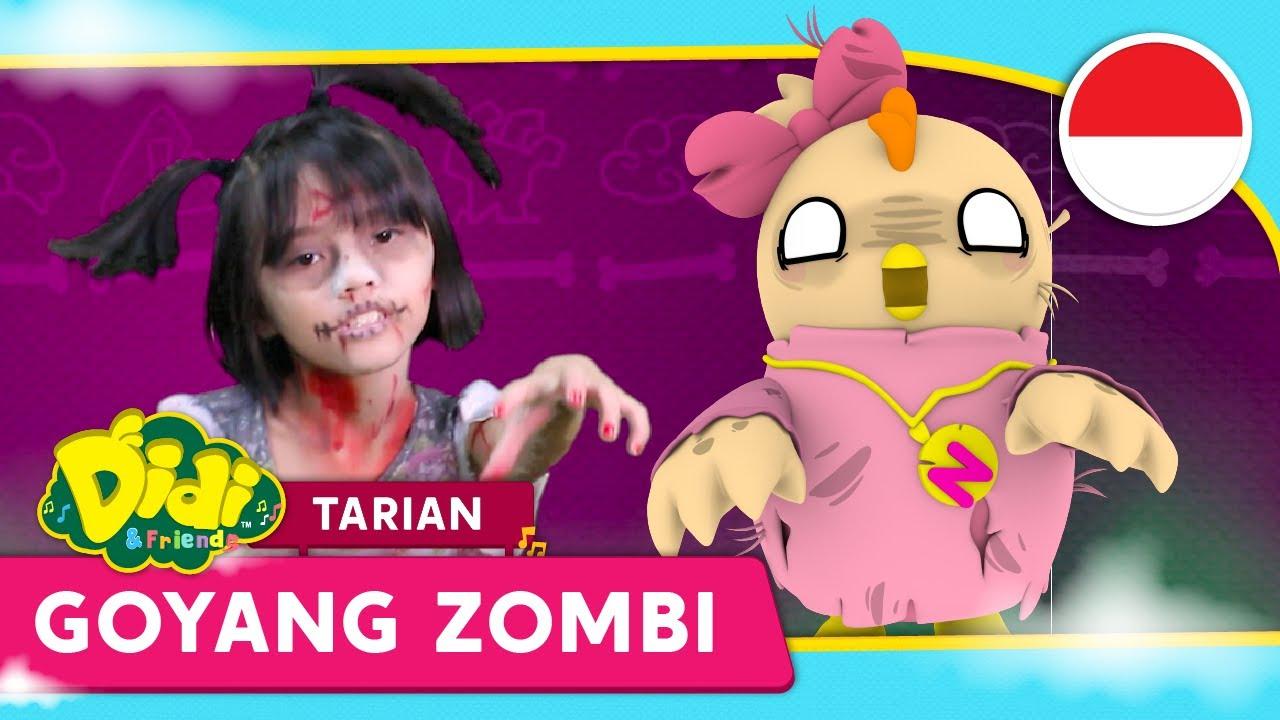 Lagu Anak Indonesia | Tarian Goyang Zombi | Didi & Friends Indonesia