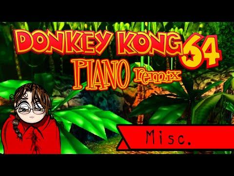 Jazzy Jungle (Donkey Kong 64 Jungle Japes) - Roulette's Play Piano Remix