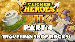 Clicker Heroes 2 Beta Walkthrough: Part 4 - TRAVELING SHOP ROCKS! - PC Gameplay Let