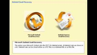 How to recover deleted emails ?