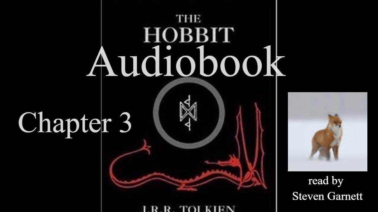 The Hobbit Chapter 3 [full audiobook] ASMR relax sleep *
