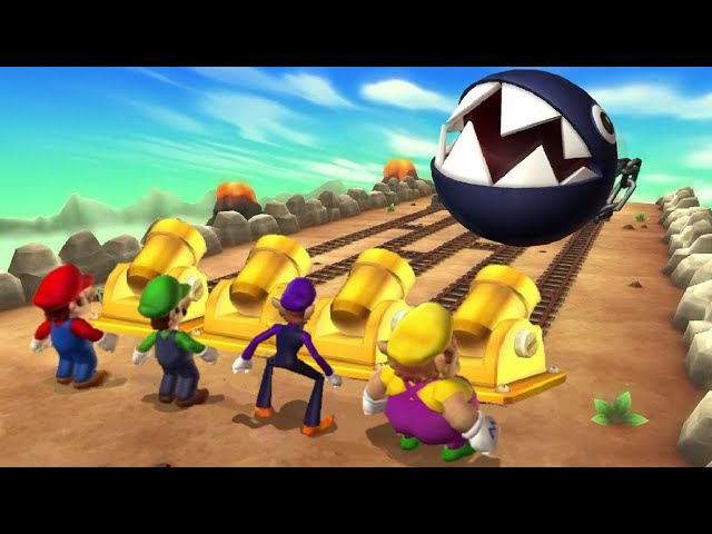 Mario Party 9 - All Minigames