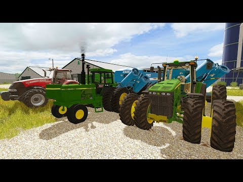 FARMING SIMULATOR 2017 | FINISHING FIELD WORK + SHEDDING TRACTORS FOR THE WINTER | EP #23