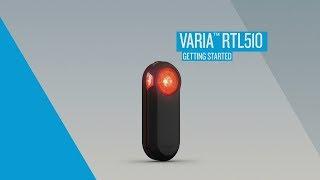 Varia RTL510 Rearview Radar: Getting Started