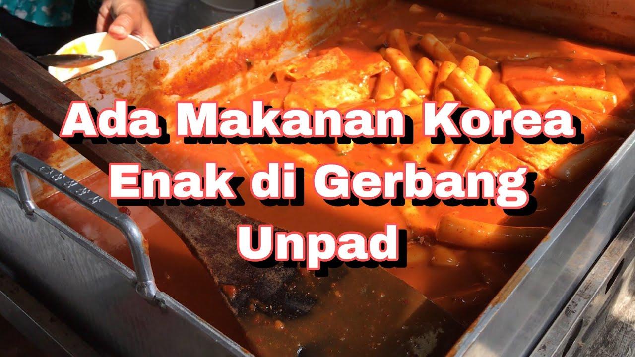 Kuliner Jatinangor Tteokbokki Toppoki Enak Di Gerbang Kampus Unpad Makan Di Angkot