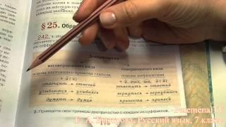 Peremena TV Русский язык, Быстрова, № 242