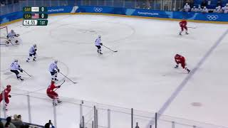 RUSSIA vs USA,   Olympics Game 2018