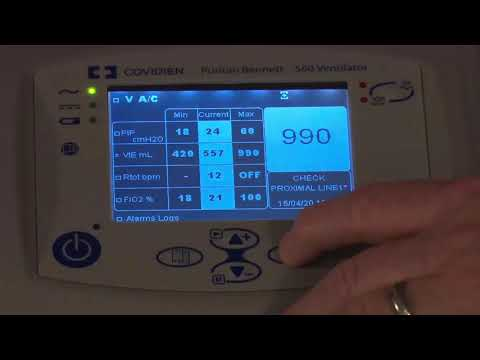 Puritan Bennett 560 Ventilator - Volume Based Modes