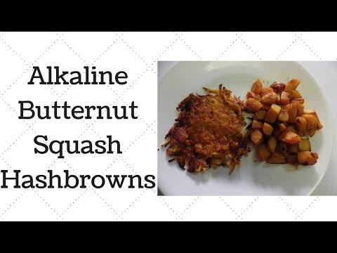 Butternut Squash Hashbrowns Dr.Sebi Alkaline Electric Recipe
