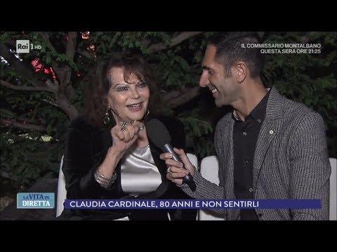 Claudia Cardinale, 80 anni della diva che non voleva fare il cinema - La vita in diretta 16/04/2018