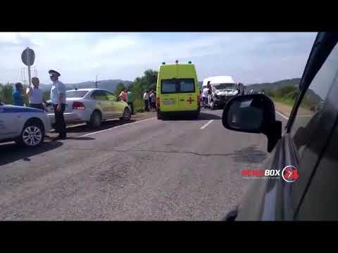 Полиция Приморья рассказала подробности аварии в Партизанском районе