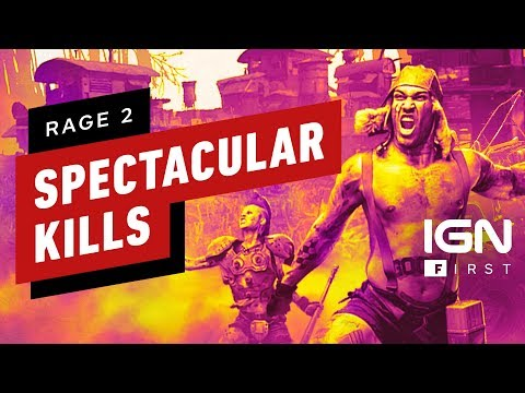 Rage 2: 90 Seconds of Spectacular Kills - IGN First