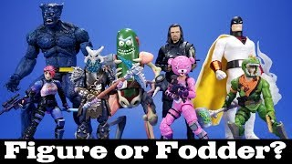 Figure or Fodder? Pickle Rick, Space Ghost, Fortnite, Marvel Select Beast, and SHF Bucky Review