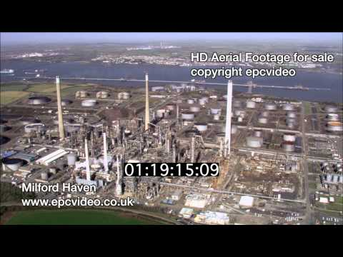 Oil refinery Milford Haven