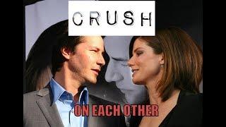 Crush on each other confession    Speed movie stars - Keanu Reeves & Sandra Bullock 💘