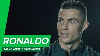 """Cristiano Ronaldo on free kicks: """"You have to be born with that"""""""