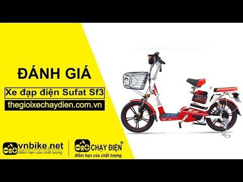 Đánh giá xe đạp điện Sufat SF3