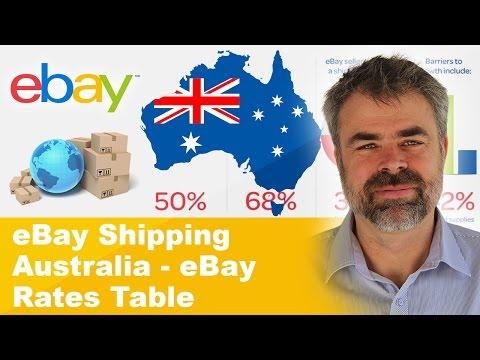 EBay Shipping Australia - EBay Rates Table