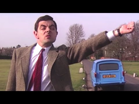 Getting To The Course | Official Mr. Bean