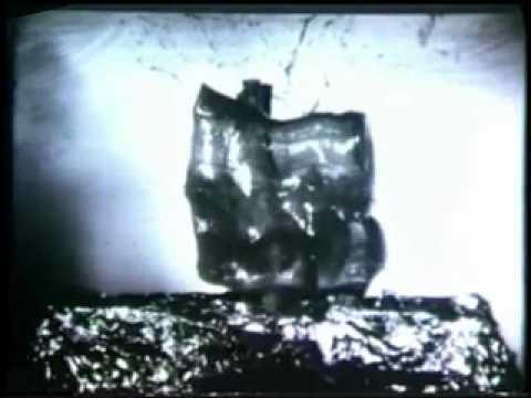 Terminal Ballistics conducted by shooting bones embedded in gelatin  (1970)