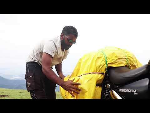 HOW I LOAD LUGGAGE ONTO MY ROYAL ENFIELD MOTORCYCLE