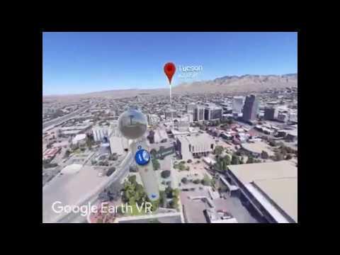 Google Earth VR: Discover Arizona, California
