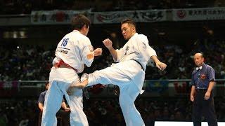 新極真会 The 11th World Karate Championship Men Semifinal 1 Shota Maeda Vs Kenbu Iriki