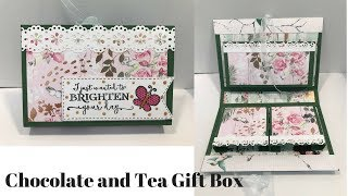 Chocolate and Tea Gift Box Tutorial