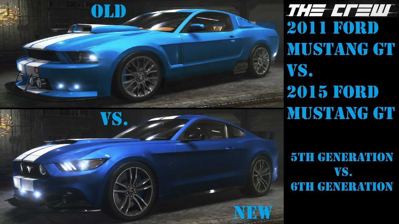 Lets Play The Crew Part 95 Quot Old Vs New Quot 2011 Mustang